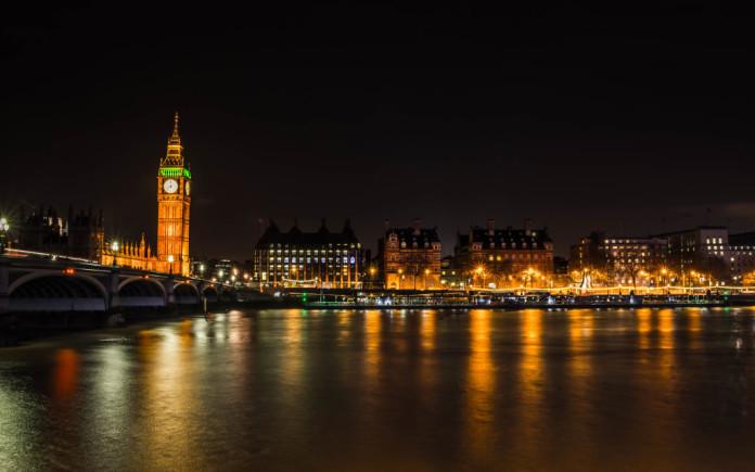 Londýn večer