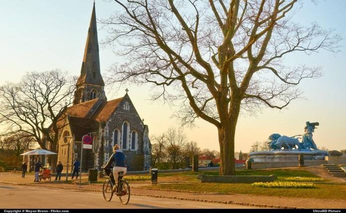 kostol v Kodani