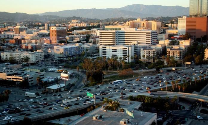 Los Angeles diaľnica
