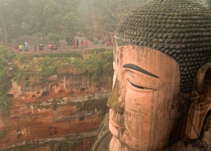 socha v Číne