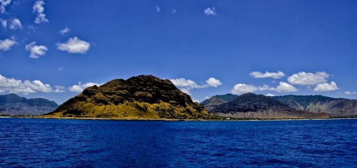 Havajské ostrovy pohľad na ostrov