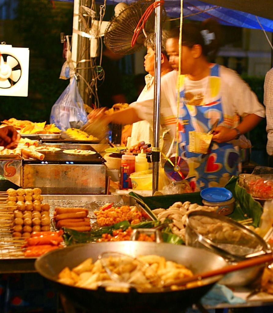 thajské jedlo