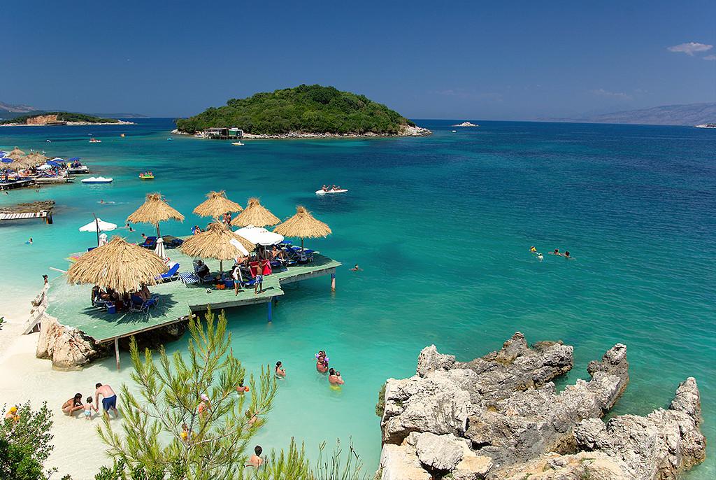 albánska pláž