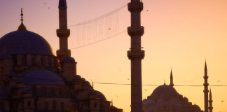 pohľad na Istanbul