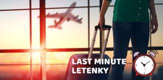 last minute letenky