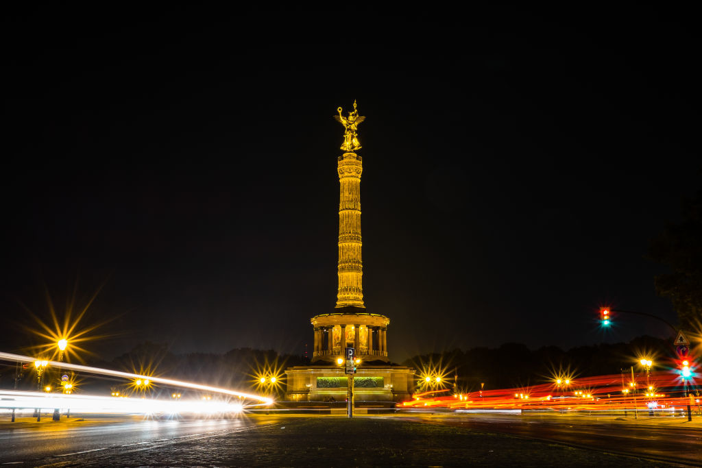 socha v Berlíne