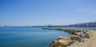 Kréta pobrežie