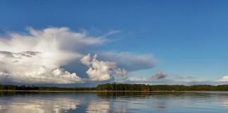 jazero vo Švédsku