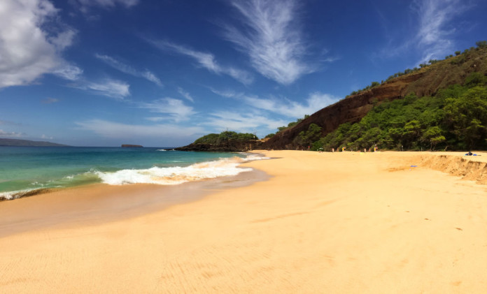 pláž na Havaji