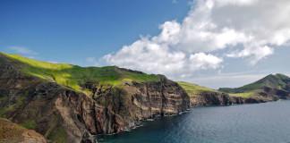 útesy na Madeire
