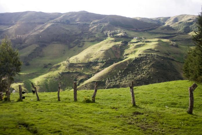 Ekvádor kopce
