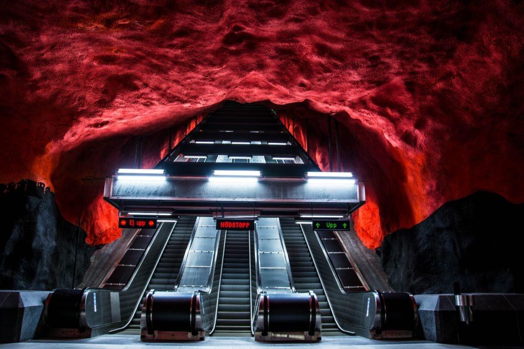 Solna Centrum Štokholm