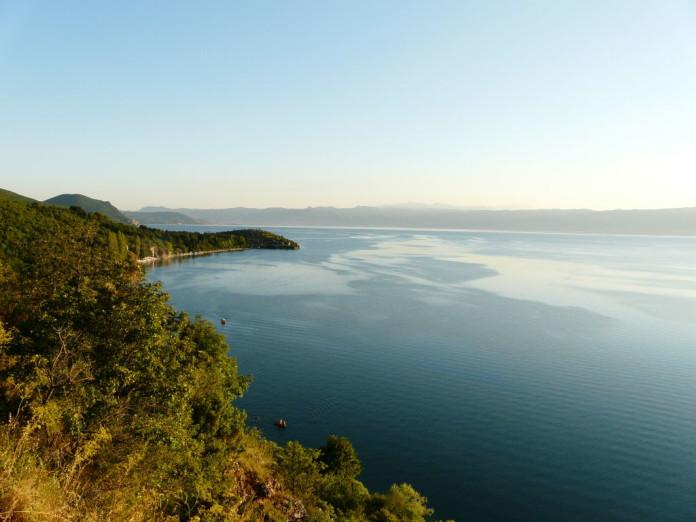 jazero Ohrid Macedónsko