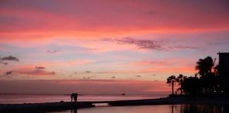 ostrov Aruba, Karibik