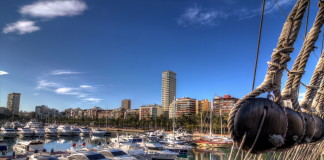 prístav v Alicante
