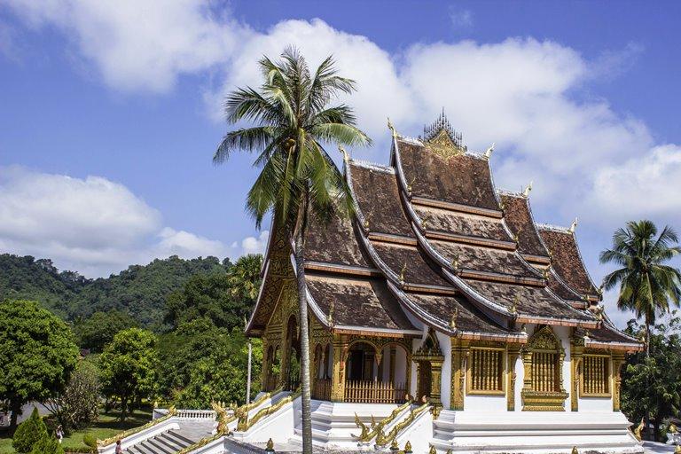 Chrám v Laose