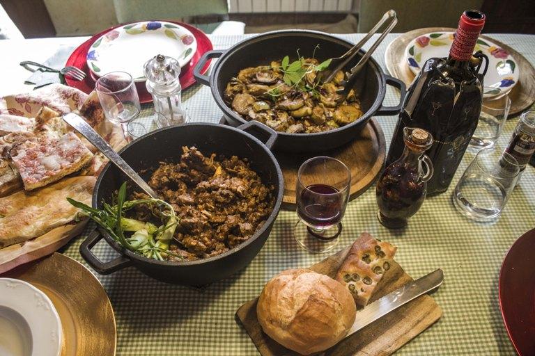 toskánska kuchyňa