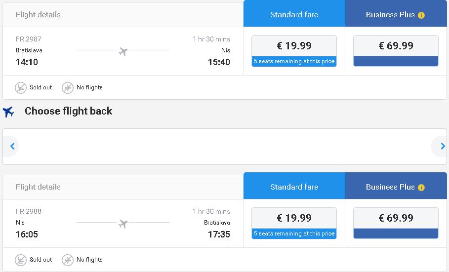a5a0d115dfdc3 Nová linka spoločnosti Ryanair z Bratislavy - LETENKY ZA BABKU