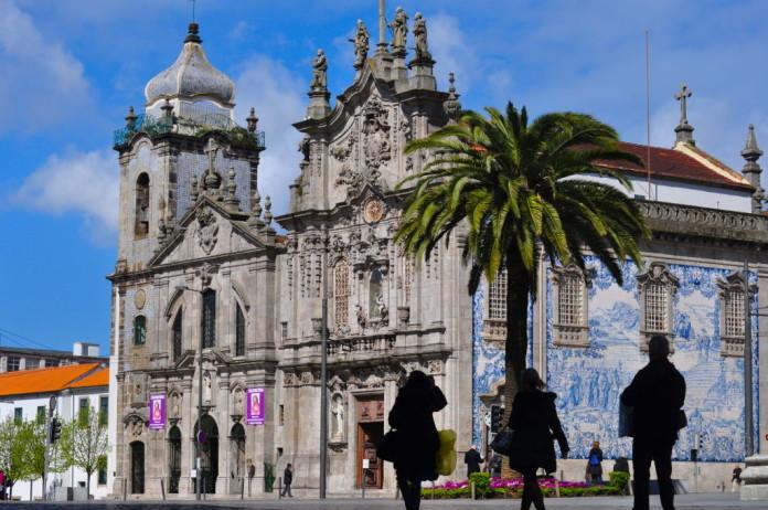 Portugalsko - porto - kostol
