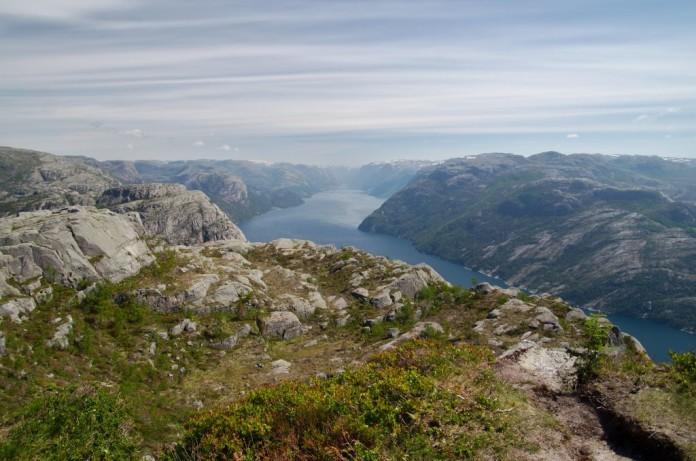Nórsko - Stavanger, fjord