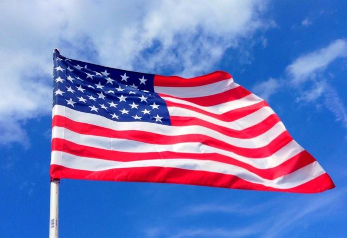 USA - americká vlajka