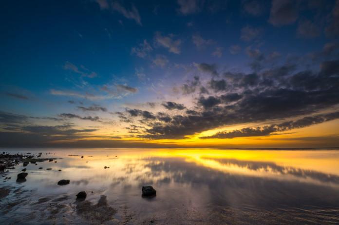 Bali - západ slnka