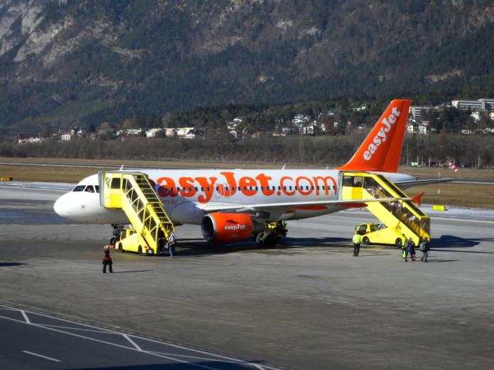 lietadlo spoločnosti Easyjet