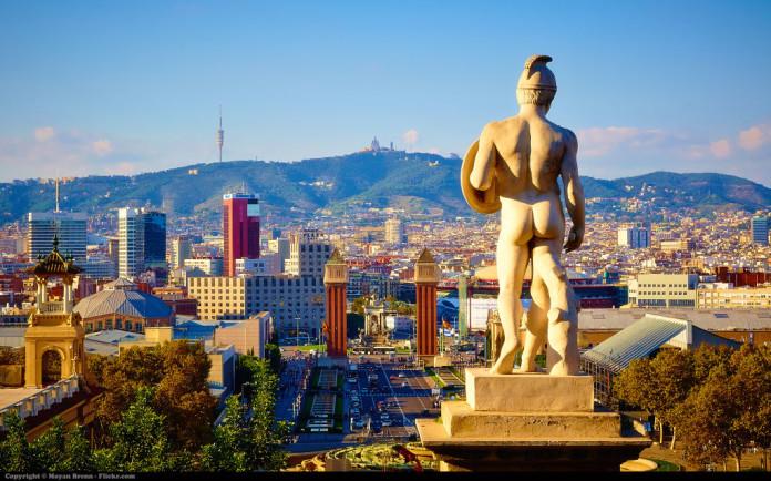 Barcelona - bojovník s holým zadkom