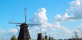 Holadnsko - veterný mlyn