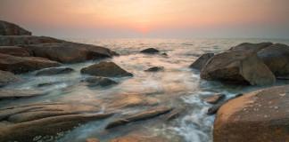 Thajsko - kamene, more