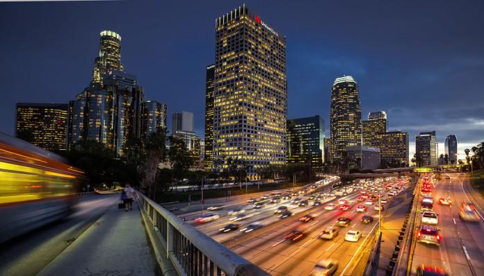 premávka v Los Angeles