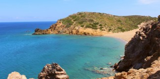 pláž na Kréte