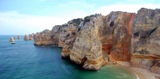 Algarve - pláž, skaly, more