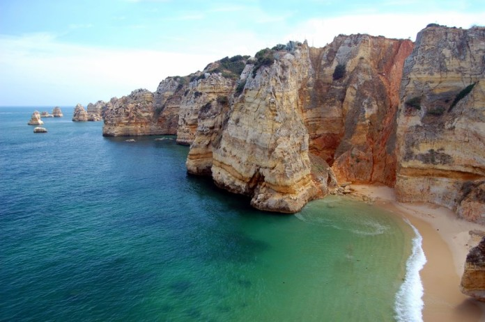 Algarve - pláž, skaly, more