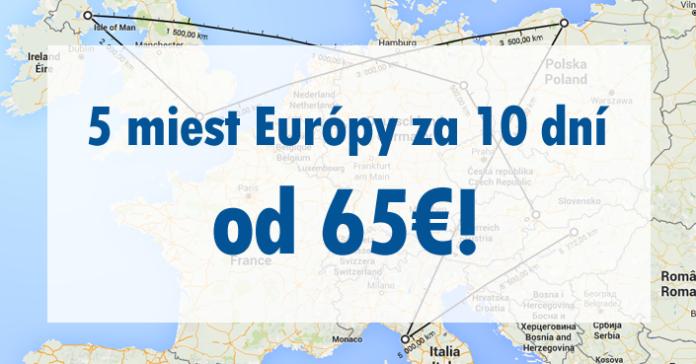 Eurotrip Berlín - Belfast - Londýn - Gdansk - Pisa