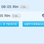 letenky budapešť - rím