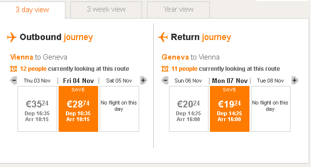 letenky Ženeva