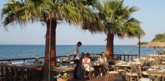 Zakynthos hotel, výhľad na more