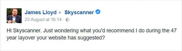 otázka skyscanner 47-ročný prestup