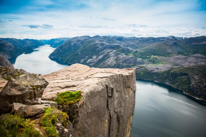 Stavanger , Nórsko a úžasná scenéria