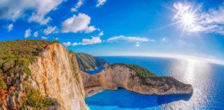 Zakynthos , Grécko - najznámejšia pláž