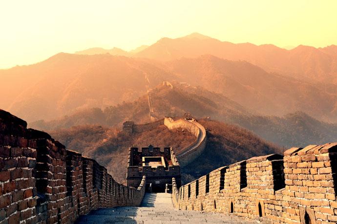 Čína, čínsky múr