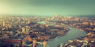 Londýn, mesto z výšky