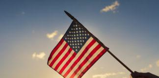 USA , americká vlajka