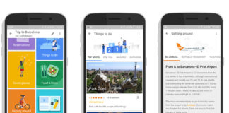 google trips aplikacia