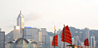 Hong Kong , loďka