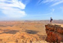 Izrael, skala a krajina