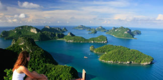 ostrov Koh Samui , Thajsko