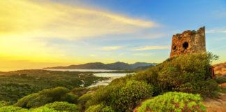 Sardínia - príroda, východ Slnka