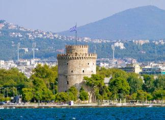 Thessaloniki , Solún , Grécko veža